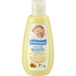 Babylove Mein erstes Babyöl 3in1