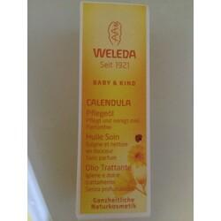 Weleda Baby & Kind Calendula Pflegeöl parfümfrei 10 ml
