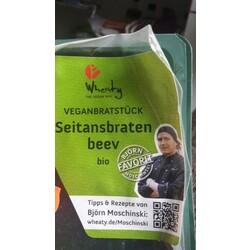 Wheaty - Veganbratstück Seitansbraten beev bio