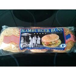 Hamburger Buns, American Style