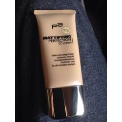 p2 mattifying perfection CC cream 015