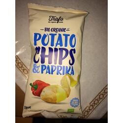 Trafo Bio organic Potato Chips & Paprika