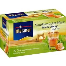 Meßmer Tee Marokkanischer Masir Minze-Honig  20 Beutel à 2 g