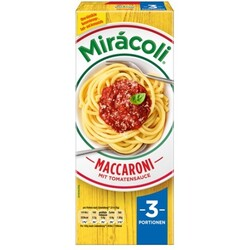 Miracoli Maccaroni mit Tomatensauce 3 Portionen 377 g