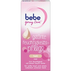 bebe young care getönte Feuchtigkeitspflege hell 40 ml
