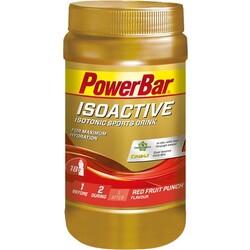 Isoactive Isotonic Sports Drink, Roter Fruchtpunsch, Pulver (600 g) von Powerbar