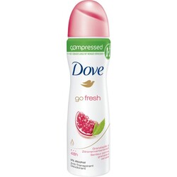 Dove Deo Spray Deodorant Compressed Go Fresh Granatapfel- & Zitronenverbene