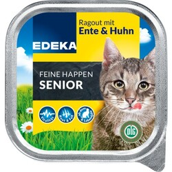 Edeka Feine Happen Junior Mit Geflugel 100g Amazon De Haustier