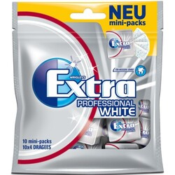 Wrigleys Extra Professional White 10x 4 Dragees