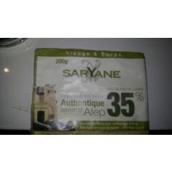 Saryane Authentique Savon d'Alep 35%