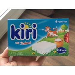 Kiri - mit Sahne