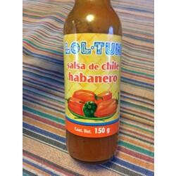 Loltun Salsa de Chile Habanero rot