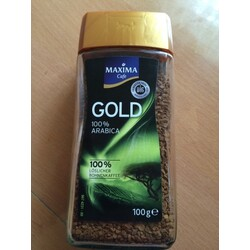 Maxima Gold Instant Kaffee