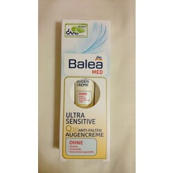Balea med Ultra Sensitive Q10 Anti Falten Augencreme