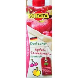 Solevita Apfel-Sauerkirsch-Direktsaft