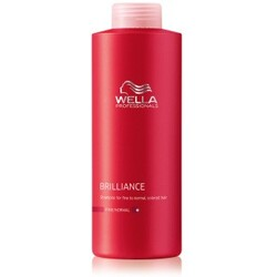 Wella Professionals Care Brilliance Brilliance Shampoo für feines bis normales, coloriertes Haar ohne Pumpspender 1000 ml