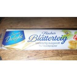 sweet delight frischer Blätterteig