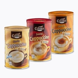 Combo Family Cappuccino mit Schokonote