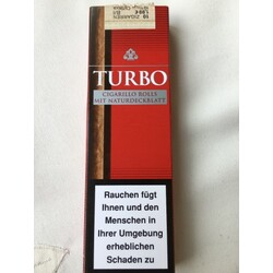 Turbo Cigarillo Rolls mit Naturdeckblatt