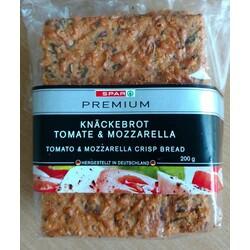 Knäckebrot Tomate & Mozzarella