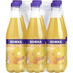EDEKA Milde Orange ohne Zuckerzusatz 1 ltr