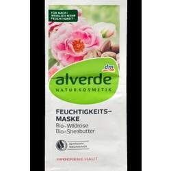 Alverde - Feuchtigkeitsmaske Bio-Wildrose Bio-Sheabutter
