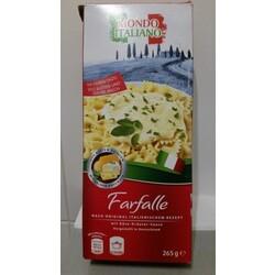 Mondo Italiano Farfalle mit Käse-Kräuter-Soße