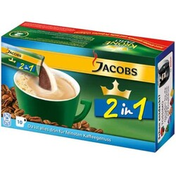Jacobs Krönung 2in1 Instantkaffee 10x 14 g