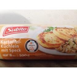 Subito Kartoffel-Küchlein mit Speck