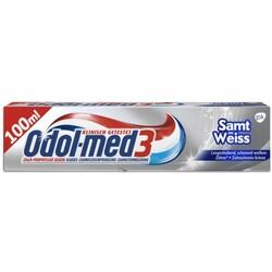 Odol-med 3 Zahncreme Samt Weiss 100 ml