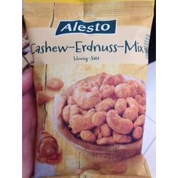 Alesto Cashew-Erdnuss-Mix Honig-Salz