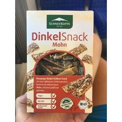 Dinkel Snack Mohn