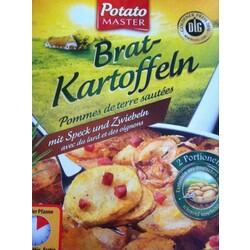 Potato master – Bratkartoffeln mit Zwiebeln und Speck