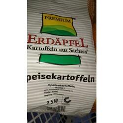"""PREMIUM """"Erdäpfel – Kartoffeln aus Sachsen"""" Sorte Sanira"""