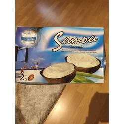Eisfrüchte Kokosnuss