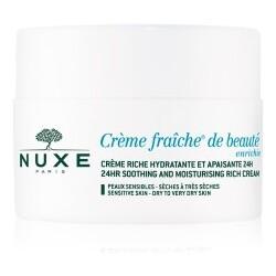 24H-reichhaltige hautberuhigende Feuchtigkeitscreme 50ml für empfindliche Haut - trockene bis sehr trockene Haut