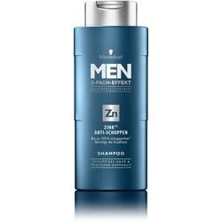 Schwarzkopf MEN3-Fach-Effekt Shampoo Zn Zink (PT) Anti-Schuppen