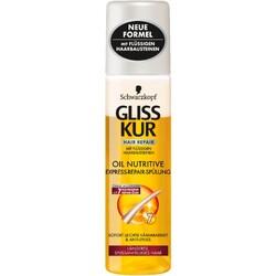Schwarzkopf Gliss Kur Express-Repair-Spülung Oil Nutritive (200ml  Conditioner/Spülung)