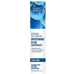 Desert Essence - Whitening Plus Toothpaste – Cool Mint