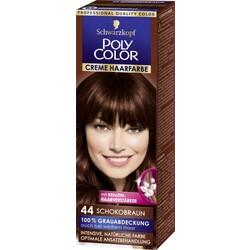 Poly Color Cremehaarfarbe - 44 Schokobraun