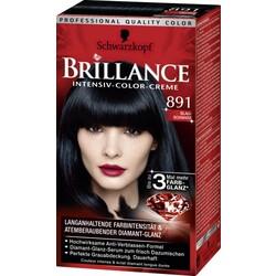Schwarzkopf Brillance Intensiv-Color-Creme Blau-Schwarz 891