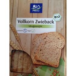 Bio Vollkorn Zwieback aus Weizen, ungesüsst