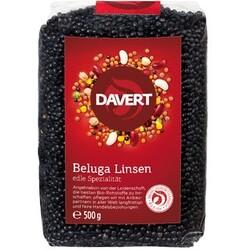 Davert Beluga Linsen, schwarz, 500 g
