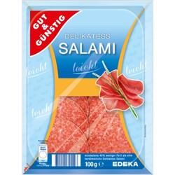 Gut & Günstig - Delikatess Salami leicht