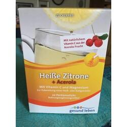 Heiße Zitrone+ Acerola