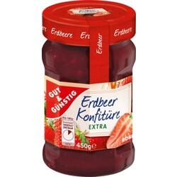 Gut & Günstig - Erdbeer Konfitüre Extra
