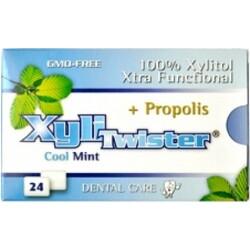 XYLITWISTER Coolmint Propolis - 100% Xylitol Kaugummis