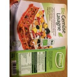 Prima Menü Bio Gemüse Lasagne