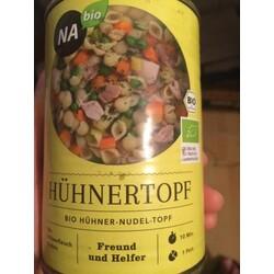 NAbio Bio Hühner-Nudel-Topf