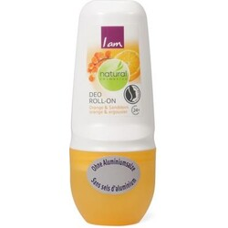 I am Natural Cosmetics Deo Roll-On Orange & Sanddorn